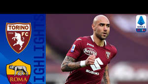 Simone Zaza holding a football ball: Goals from Antonio Sanabria, Simone Zaza and Tomas Rincon guarantee Torino's victory at home against Roma. |  Serie A TIM  This is the official channel for the Serie A, providing all the latest highlights, interviews, news and features to keep you up to date with all things Italian football. Subscribe to the channel here! https://bit.ly/2OM2Eax   Find out more about the Serie A at: http://www.legaseriea.it/en/   Questo è il canale ufficiale della Serie A, dove potrai avere accesso ai momenti salienti, alle interviste, alle notizie e alle funzionalità del momento per rimanere aggiornato sulle ultime novità del campionato. Iscriviti qui al canale! https://bit.ly/2OM2Eax  Per maggiori informazioni sulla Serie A: http://www.legaseriea.it/it