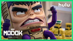 An egomaniacal super villain struggles to maintain control of his evil organization after it is bought by a multinational tech company, all while juggling the needs of his demanding family. Watch Marvel's M.O.D.O.K May 21, only on Hulu.  SUBSCRIBE TO HULU'S YOUTUBE CHANNEL Click the link to subscribe to our channel for the latest shows & updates: http://www.youtube.com/hulu?sub_confi  START YOUR FREE TRIAL  http://hulu.com/start   FOLLOW US ON SOCIAL M.O.D.O.K. on Instagram: https://instagram.com/marvelsmodok M.O.D.O.K. on Twitter: https://twitter.com/marvelsmodok M.O.D.O.K. on Facebook: https://www.facebook.com/MarvelsMODOK/  Hulu on Instagram: https://www.instagram.com/hulu/  Hulu on Twitter: https://twitter.com/hulu Hulu on Facebook: https://www.facebook.com/hulu