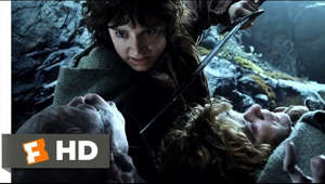 The Lord of the Rings: The Two Towers movie clips: http://j.mp/1J8YO2N BUY THE MOVIE: http://bit.ly/2c5v38y Don't miss the HOTTEST NEW TRAILERS: http://bit.ly/1u2y6pr  CLIP DESCRIPTION: Frodo (Elijah Wood) and Sam (Sean Astin) meet the creature Gollum.  FILM DESCRIPTION: The second film in Peter Jackson's series of screen adaptations of J.R.R. Tolkien's internationally popular Lord of The Rings trilogy, The Lord of the Rings: The Two Towers literally begins where The Lord of the Rings: The Fellowship of the Ring ended, with the Fellowship splitting into three groups as they seek to return the Ring to Mordor, the forbidding land where the powerful talisman must be taken to be destroyed. Frodo (Elijah Wood), who carries the Ring, and his fellow Hobbit Sam (Sean Astin) are lost in the hills of Emyn Muil when they encounter Gollum (Andy Serkis), a strange creature who once carried the Ring and was twisted by its power. Gollum volunteers to guide the pair to Mordor; Frodo agrees, but Sam does not trust their new acquaintance. Elsewhere, Merry (Dominic Monaghan) and Pippin (Billy Boyd) are attempting to navigate Fangorn Forrest where they discover a most unusual nemesis -- Treebeard (voice of John Rhys-Davies), a walking and talking tree-shepherd who doesn't much care for Hobbits. Finally, Aragorn (Viggo Mortensen), Gimli (John Rhys-Davies), and Legolas (Orlando Bloom) arrive in Rohan to discover that the evil powers of Saruman (Christopher Lee) have robbed King Theoden (Bernard Hill) of his rule. The King's niece Éowyn (Miranda Otto) believes Aragorn and his men have the strength to defeat Saruman, his henchman Wormtongue (Brad Dourif), and their minions. Éowyn soon becomes infatuated with Aragorn, while he struggles to stay faithful to the pledge of love he made to Arwen (Liv Tyler). Gandalf (Ian McKellen) offers his help and encouragement as the Rohans, under Aragorn's leadership, attempt to face down Saruman's armies, but they soon discover how great the task before them truly is when they learn that his troops consist of 10,000 bloodthirsty creatures specially bred to fight to the death. Most of The Lord of the Rings: The Two Towers was shot in tandem with The Lord of the Rings: The Fellowship of the Ring and The Lord of the Rings: The Return of the King during a marathon 18-month shooting schedule, overseen by Peter Jackson.  CREDITS: TM & © Warner Bros. (2002) Cast: Sean Astin, Andy Serkis, Elijah Wood Director: Peter Jackson Producers: Peter Jackson, Michael Lynne, Mark Ordesky, Barrie M. Osborne, Rick Porras, Jamie Selkirk, Robert Shaye, Bob Weinstein, Harvey Weinstein, Fran Walsh Screenwriters: Philippa Boyens, Peter Jackson, J.R.R. Tolkien, Fran Walsh, Stephen Sinclair  WHO ARE WE? The MOVIECLIPS channel is the largest collection of licensed movie clips on the web. Here you will find unforgettable moments, scenes and lines from all your favorite films. Made by movie fans, for movie fans.  SUBSCRIBE TO OUR MOVIE CHANNELS: MOVIECLIPS: http://bit.ly/1u2yaWd ComingSoon: http://bit.ly/1DVpgtR Indie & Film Festivals: http://bit.ly/1wbkfYg Hero Central: http://bit.ly/1AMUZwv Extras: http://bit.ly/1u431fr Classic Trailers: http://bit.ly/1u43jDe Pop-Up Trailers: http://bit.ly/1z7EtZR Movie News: http://bit.ly/1C3Ncd2 Movie Games: http://bit.ly/1ygDV13 Fandango: http://bit.ly/1Bl79ye Fandango FrontRunners: http://bit.ly/1CggQfC  HIT US UP: Facebook: http://on.fb.me/1y8M8ax Twitter: http://bit.ly/1ghOWmt Pinterest: http://bit.ly/14wL9De Tumblr: http://bit.ly/1vUwhH7