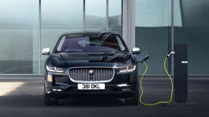 a close up of a car: Jaguar will only make electric vehicles by 2025.