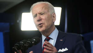 Joe Biden wearing a suit and tie: Joe Biden delivers remarks on gun violence