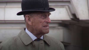 a man wearing a suit and hat: Prince Philip dies aged 99