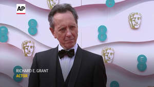 Richard E. Grant wearing a bow tie: Richard E. Grant: Prince Philip was 'very forthright'