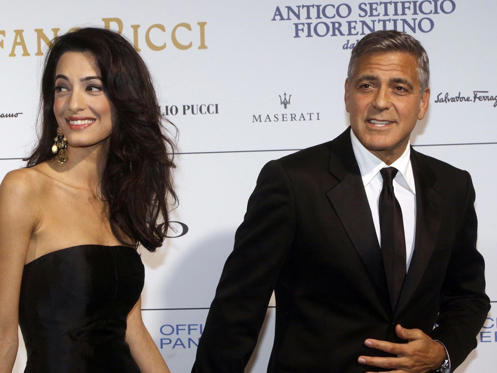 Slide 1 of 14: It's been a good week for George Clooney...George Clooney has had some good news in the run-up to his wedding - he's to be honoured with a special award at the 2015 Golden Globes. Clooney will receive the Cecil B DeMille Award, joining big names such as Robert De Niro and Morgan Freeman.The multi-talented star produced and directed his most recent movie, The Monuments Men, and even co-wrote the screenplay!Catch up with all the celebrity news of the week, plus the best photos and the biggest faux pas...