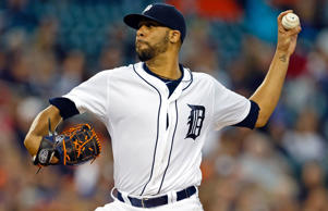 Detroit Tigers pitcher David Price pitches during a game against the Chicago White Sox on Sept. 23 at Comerica Park in Detroit.