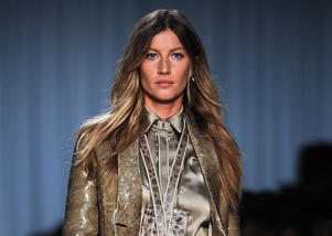 PARIS, FRANCE - OCTOBER 02:  Gisele Bundchen walks the runway during the Givenchy Ready to Wear Spring / Summer 2012 show during Paris Fashion Week  on October 2, 2011 in Paris, France.  (Photo by Pascal Le Segretain/Getty Images)