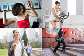 No time to workout? All it takes is 15-20 minutes of moderate to intense activity a day to stay fit and healthy. If you're stuck for ideas, here are 15 ways to get your heart pumping…