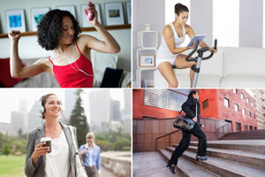 Workouts for busy people: No time to workout? All it takes is 15-20 minutes of moderate to intense activity a day to stay fit and healthy. If you're stuck for ideas, here are 15 ways to get your heart pumping…