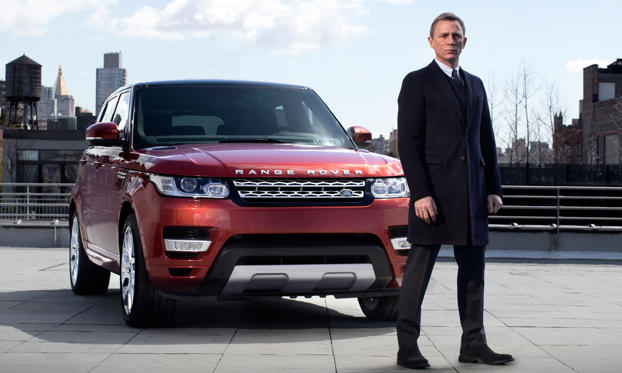 Slide 1 of 17: Daniel Craig for the Land Rover Range Rover Sport