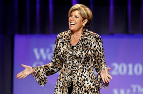 TV personality Suze Orman speaks at the Women's Conference Tuesday, Oct. 26, 2010, in Long Beach, Calif.