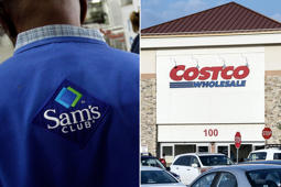Store associate at Sam's Club in Jackson, Miss.; Costco store in Mount Laurel, N.J.