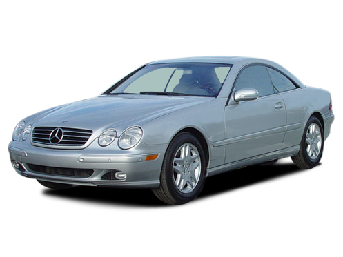 Slide 1 of 14: 2003 Mercedes CL-Class