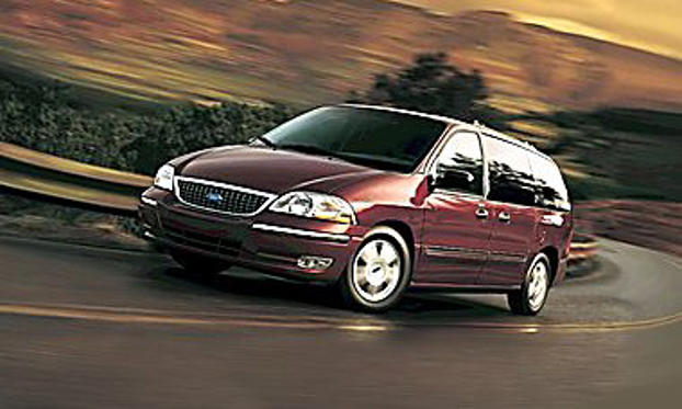 Slide 1 of 15: 2003 Ford Windstar