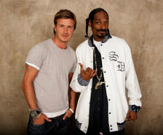 The pair share a great bonding as rapper Snoop claims David is always the first to hear his music.
