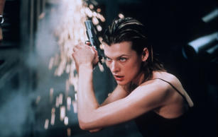 Milla Jovovich plays Alice in Resident Evil