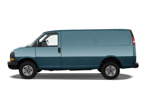 Slide 1 of 25: 2015 GMC Savana Cargo