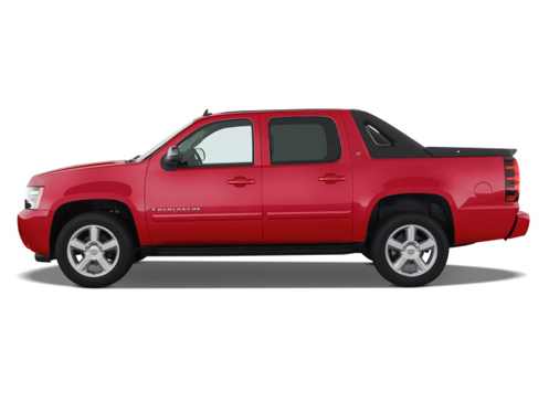 Slide 1 of 9: 2008 Chevrolet Avalanche