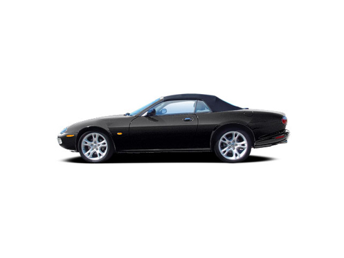 Slide 1 of 13: 2004 Jaguar XK Series