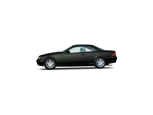 Slide 1 of 18: 2003 Mercedes CL-Class