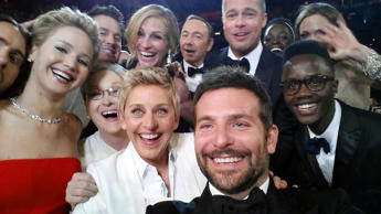 Ellen DeGeneres hosted the Academy Awards for a second time in 2014 after 2007. She posed for a selfie mid-show with several famous faces and kept the tone pleasant.
