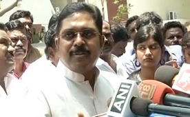 TTV Dinakaran said he has no regrets over being sidelined within the AIADMK.