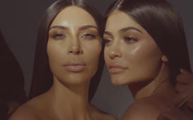 Kim Kardashian and Kylie Jenner look like twins in new campaign