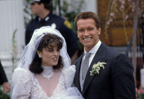 The Wedding of Maria Shriver and Arnold Schwarzenegger, St. Francis Xavier's Rom...