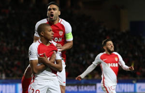 Monaco beat Dortmund to reach semi-finals