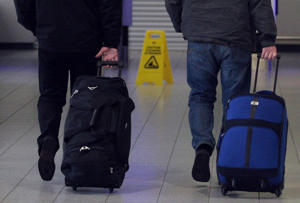 Ditching your bag is one way of escaping charges
