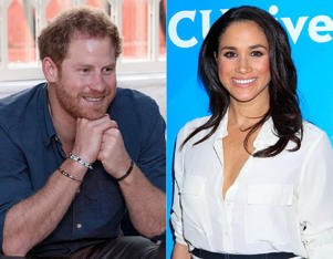 Prince Harry; Meghan Markle