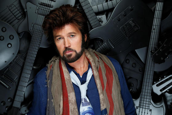 "Slide 1 of 40: In this Dec. 11, 2015 photo, Billy Ray Cyrus poses for a photo at the Municipal Auditorium in Nashville, Tenn. In his latest role for the new CMT comedy series ""Still the King,"" the ""Achy Breaky Heart"" singer-turned-actor portrays a washed up country star-turned-Elvis impersonator, which premieres June 12, 2016. (Photo by Donn Jones/Invision/AP)"