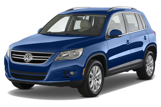 Slide 1 of 25: 2010 Volkswagen Tiguan