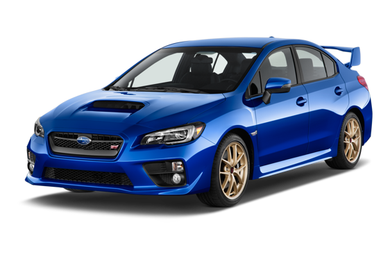 Slide 1 of 14: 2015 Subaru WRX STi