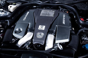 5.5-litre turbo-charged engine