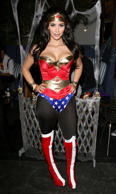 LOS ANGELES, CA - OCTOBER 30: Kim Kardashian attends her Halloween party hosted by PAMA at Stone Rose on October 30, 2008 in Los Angeles, California. (Photo by Jesse Grant/WireImage)