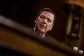 Director of the Federal Bureau of Investigation, James Comey testifies in front ...