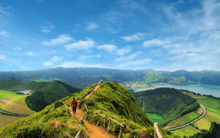 Walking in the spectacular Azores