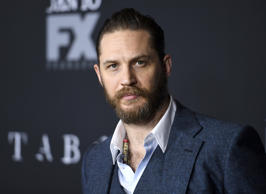 Actor Tom Hardy attends the premiere of FX's 'Taboo' at DGA Theater on January 9, 2017 in Los Angeles, California.
