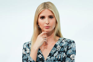 Ivanka Trump, daughter and adviser of U.S. President Donald Trump, attends a panel of the W20 Summit in Berlin.