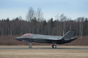 A file picture of an F-35 fighter aircraft.