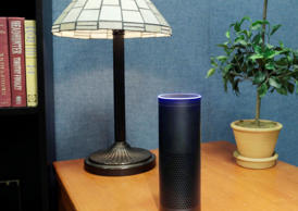File photo of  Amazon's Echo.