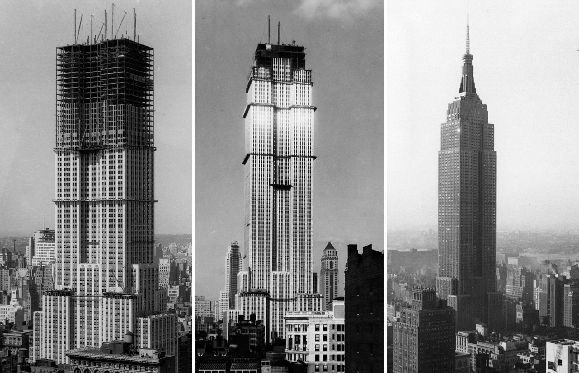 L'histoire De La Construction De L'Empire State Building