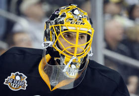 Pittsburgh Penguins goalie Marc-Andre Fleury