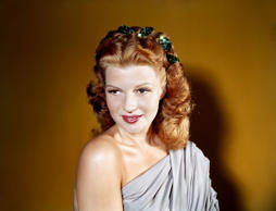Actress and dancer Rita Hayworth poses for a portrait circa 1940 in Los Angeles, California.