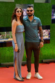 "Anushka and Virat attend the screening of ""Sachin: A Billion Dreams"" together"