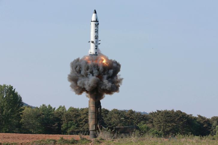 EUA confirmam novo lançamento de míssil da Coreia do Norte