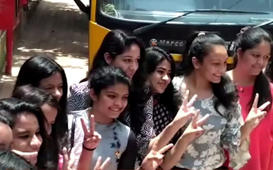 Watch: Celebrations after CBSE results