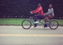 Justin Timberlake and Jimmy Fallon go bro-biking