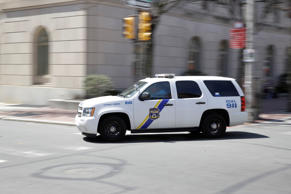 File photo of a Philadelphia Police Department vehicle responding to a call in 2017.