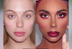 Makeup artist faces blackface backlash for makeover